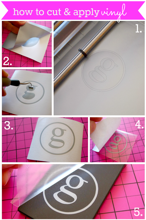 how to cut & apply vinyl