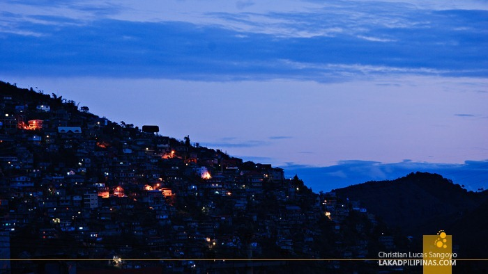Dawn Rising at Baguio City