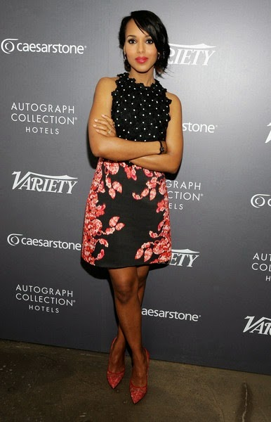 Kerry Washington Variety Emmy Studio Day