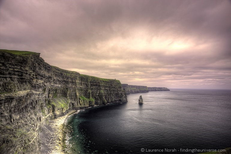 Cliffs of Moher Ireland RAW