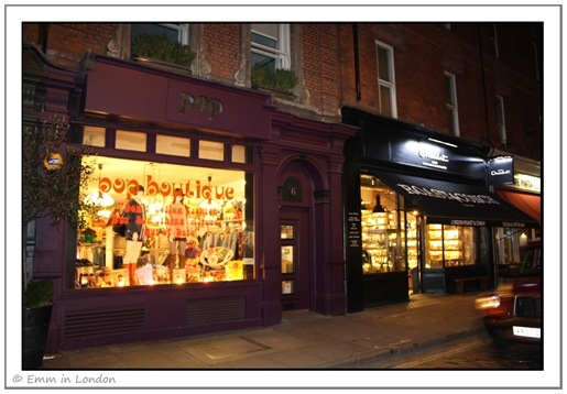 Pop Boutique, Monmouth Street