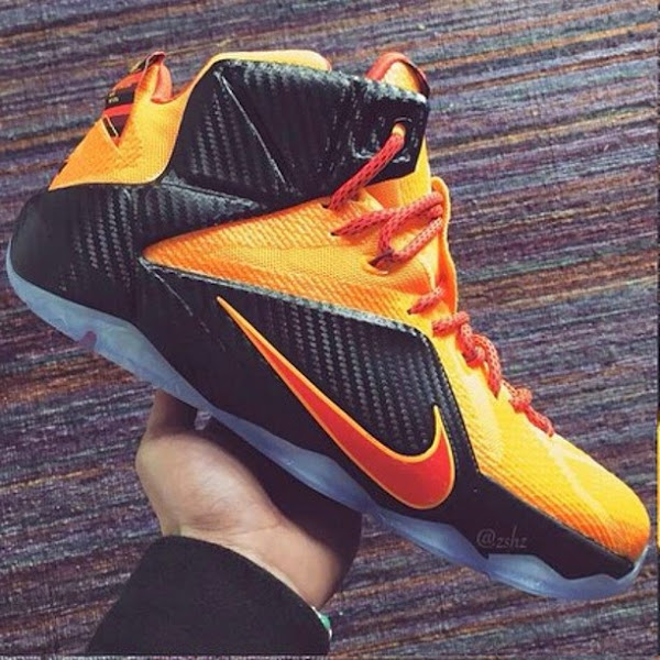 b0f41a32450 ... clearance theres a new cleveland inspired nike lebron 12 coming out  soon df1da 3ec78