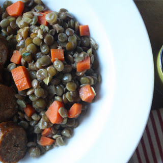 Smoky Sausage with Lentils Recipe