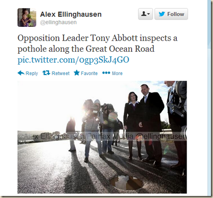 Twitter - ellinghausen- Opposition Leader Tony Abbott ...