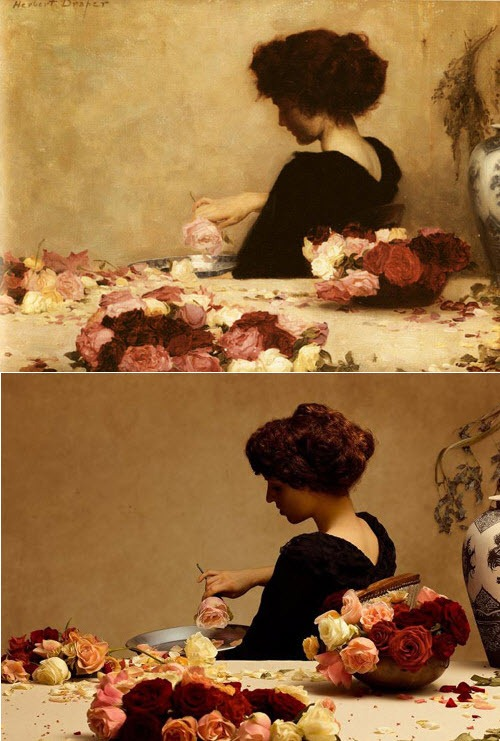 Photo Remake Of Famous Paintings Amusing Planet