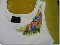 ribbon embroidery top 5