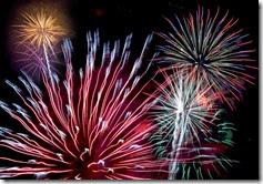 Fireworks from Microsoft Office Free Images