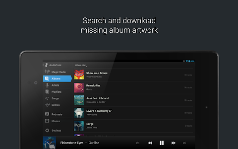doubleTwist Music Player, Sync v2.5.8
