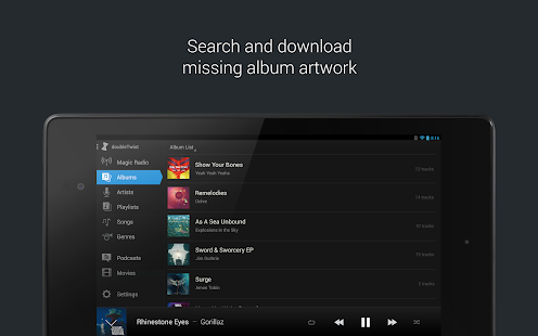 doubleTwist Music & Podcast Player with Sync- screenshot thumbnail