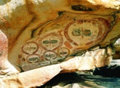mistérios da caverna de Wandjina na Austrália