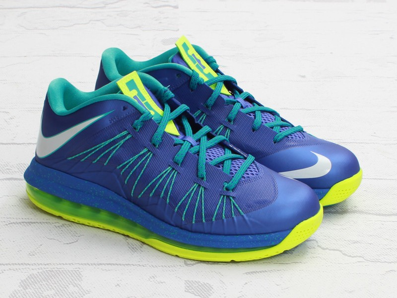 4c057a0801732 Coming Soon  Nike Air Max LeBron X Low Violet Force   Volt