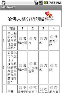男女個性心理測驗2