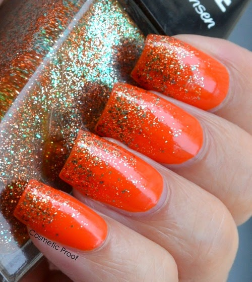 Sally Hansen Triple Shine Taheati and Sparktacular Gradient (4)
