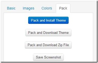 Theme Creator pack tema e download