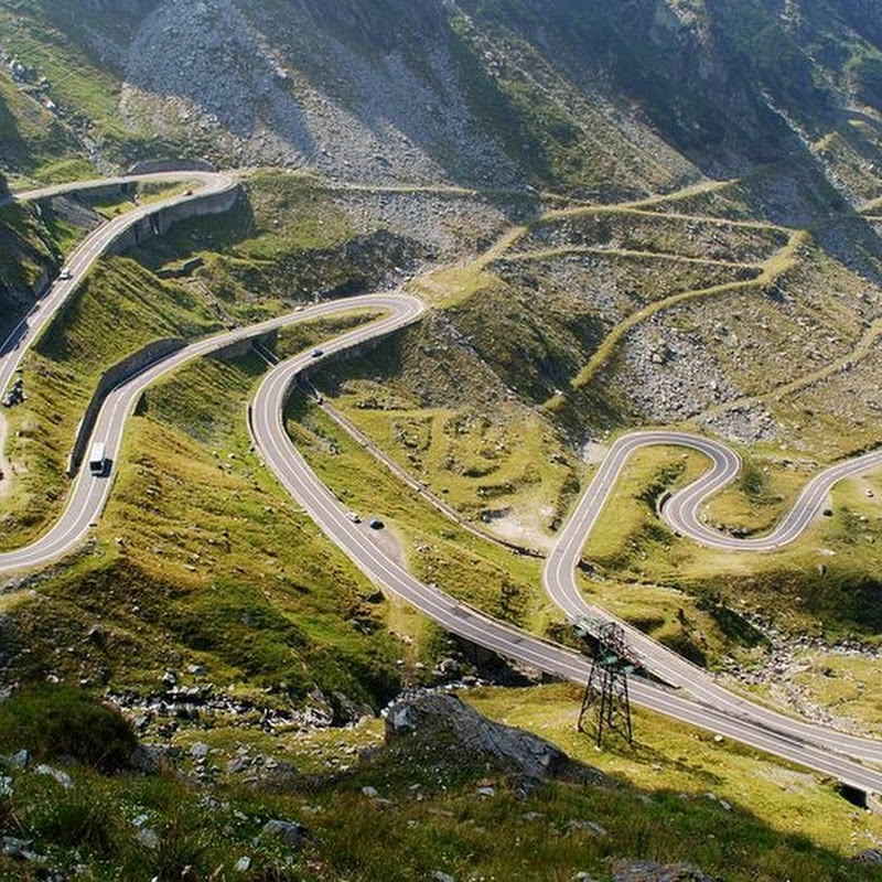 The Twist and Turns of Transfagarasan Road, Romania