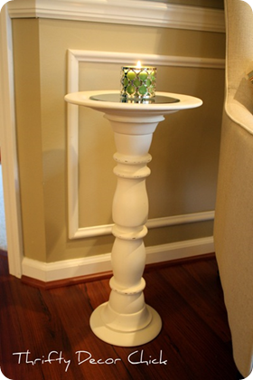 candlestick turned table