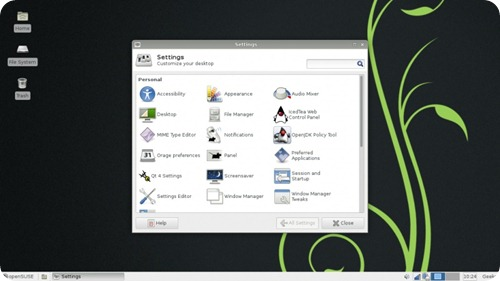 OpenSUSE_12.3_xfce_settings