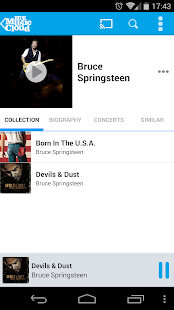 My Music Cloud: Storage & Sync - screenshot thumbnail