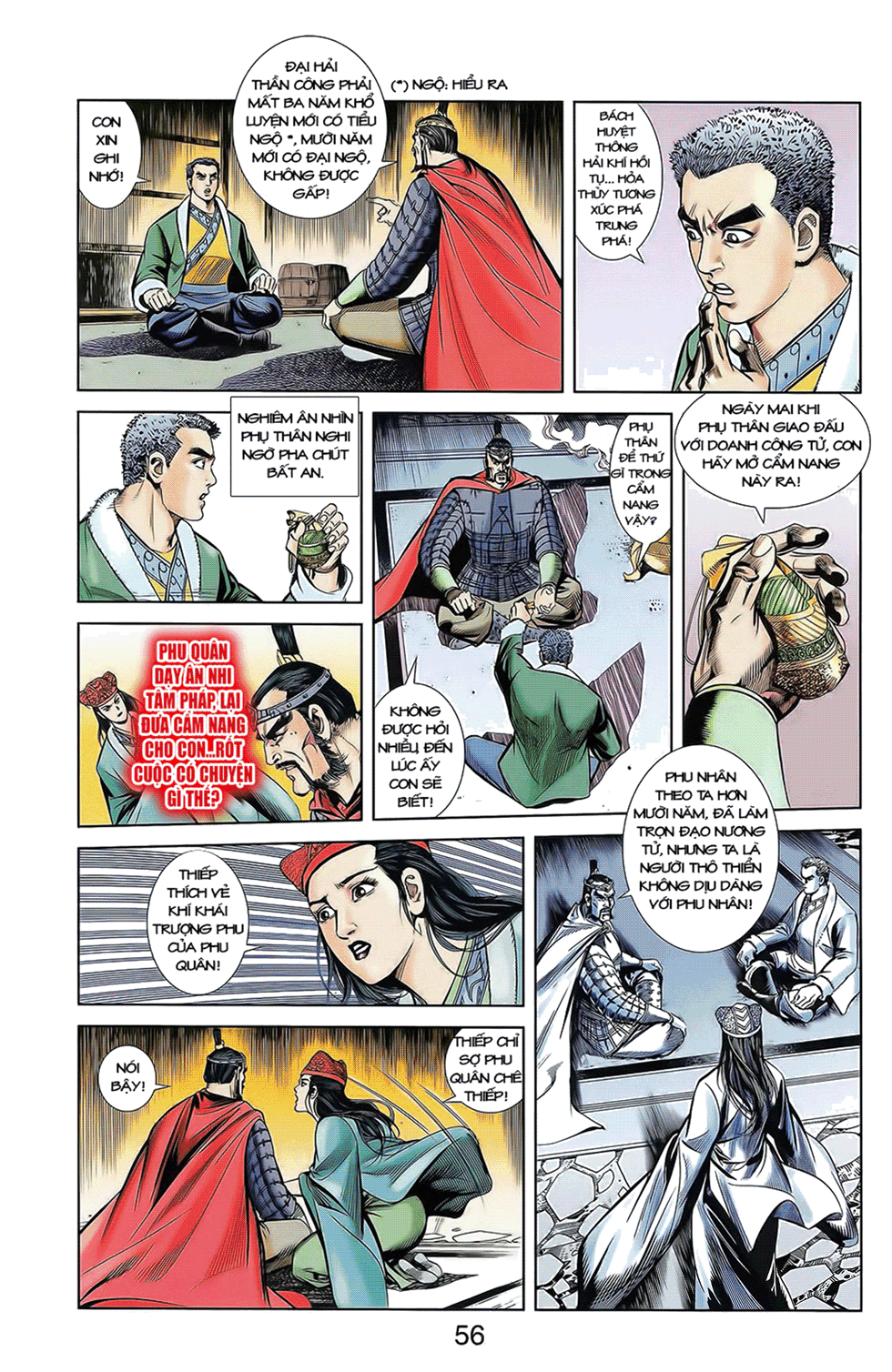 Tần Vương Doanh Chính chapter 10 trang 28