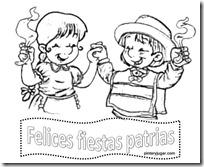 Dibujos Para Colorear 18 Septiembre Fiestas Patrias