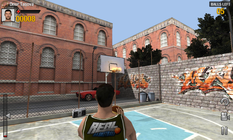 Real Basketball- screenshot
