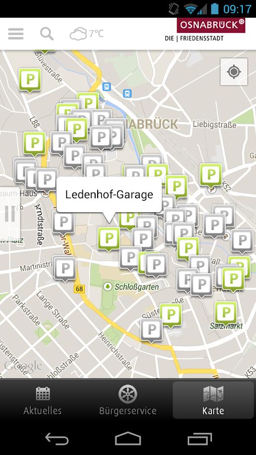 Osnabrück - screenshot