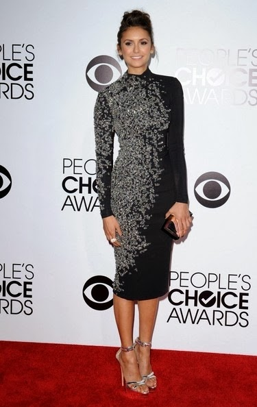 Nina Dobrev People s Choice Awards 2014