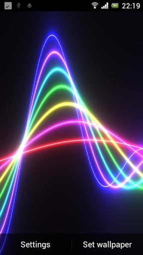 Nexus Neon Wave HD LWP