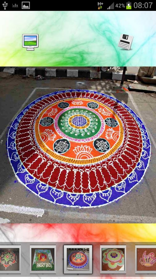 Top Rangoli Designs - screenshot