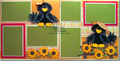 crow fence svg wpc gsd cutting file paper piecing layout-500