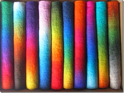 Farbverlaufsfilze