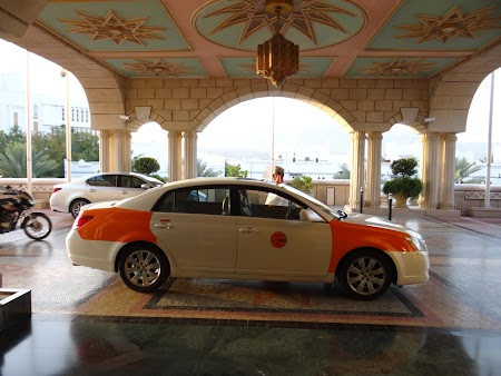 Hotel Oman: Taxi Muscat