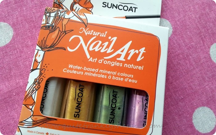 Suncoat natural nail art set earth