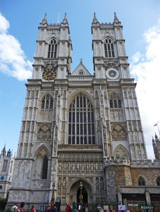 West Side of Westminster Abbey London geograph org uk 1406999
