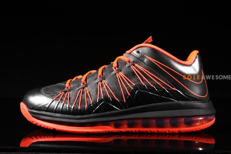 7f6e69f5ab5 ... Nike Air Max LeBron X Low Black Orange 579765001 .