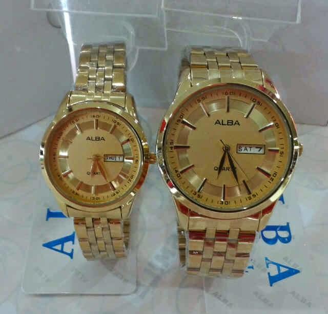 Harga Jam Tangan Alba sepasang