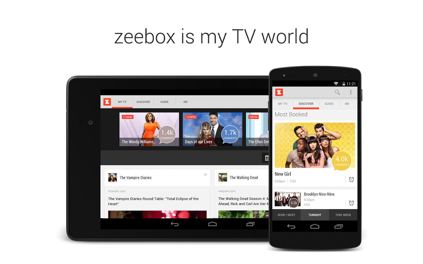 zeebox - My TV World - screenshot