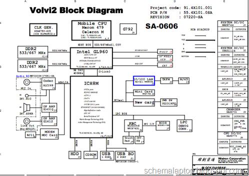 Acer Aspire 4315, Wistron Volvi2, 91.4X101.001 Free