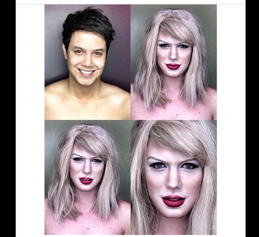 PHOTOS: Dad Transforms Himself Into Celebrities Using Makeup And Wigs 20