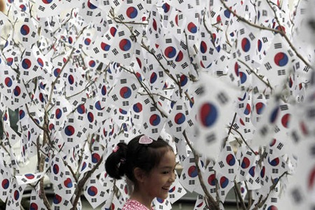 Korea-Liberation-Day-2011-AP