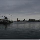 Hafen mit Blick auf die Ostsee