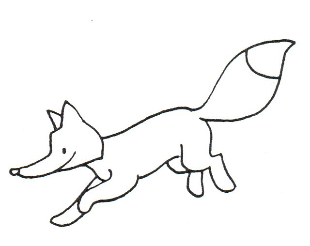 Dibujos Para Colorear De Niños Zorro Impresion Gratuita