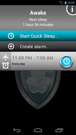 Safe Sleep - Alarm Clock ! 2.56 screenshot 253628