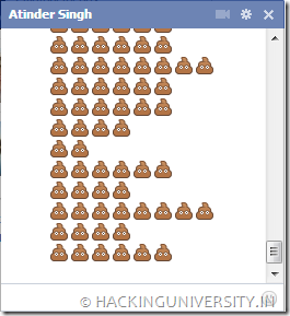 shit facebook chat emoticon