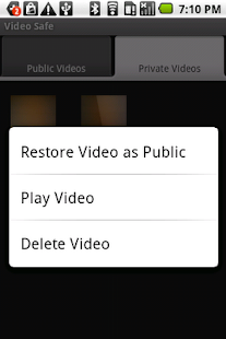 Video Safe License - screenshot thumbnail