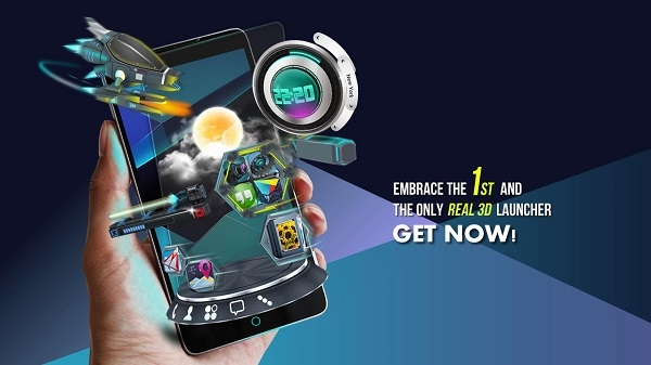 Next Launcher 3D Shell v3.21 Full Apk