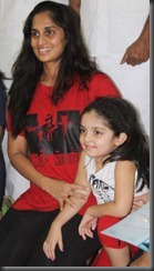 Actress Shalini with Anoushka Ajith Latest Stills