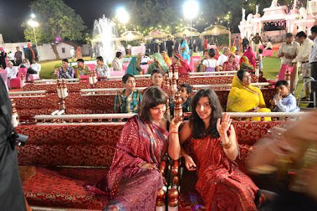 In primul rand la nunta in India