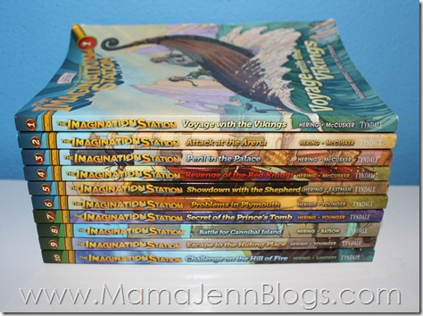 Adventures in Odyssey: Imagination Station Book Series: Books 1-10