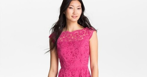 Pretty Things Cynthia Steffe Lace Fit Amp Flare Dress Mod